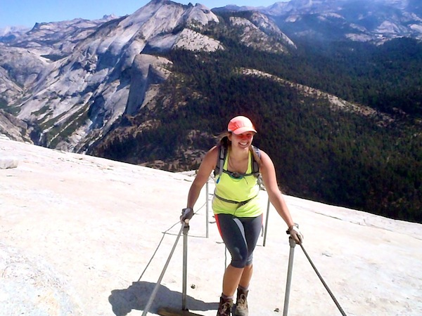 Backpack Clouds Rest To Half Dome In Yosemite National